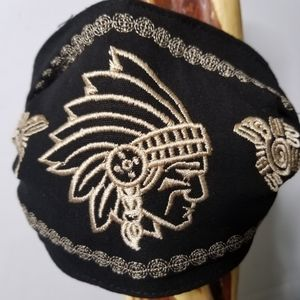 MASK MEXICAN EMBROIDERED WOMEN'S